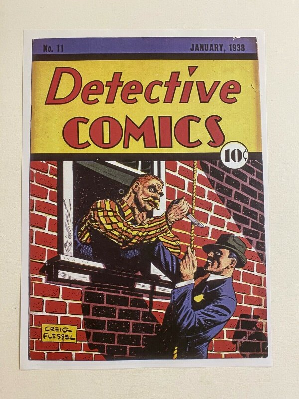 Detective Comics #11 Speed Saunders DC Comics poster by Creig Flessel