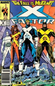 X-Factor #26 (Newsstand) VG; Marvel   low grade comic - save on shipping - detai