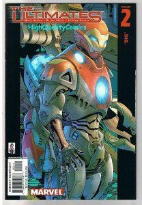ULTIMATES #2, NM-, Mark Millar, Iron Man, 2002, more IM in store