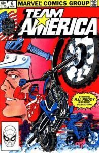 Team America #6, NM- (Stock photo)