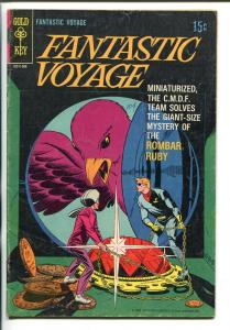 FANTASTIC VOYAGE #1 1969-GOLD KEY-TV SERIES EDITION-vg minus