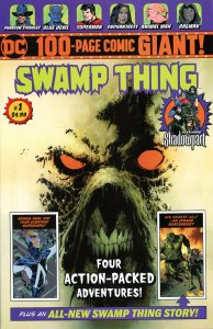 Swamp Thing Giant 1  2018  Wal-Mart 9.0 (our highest grade)