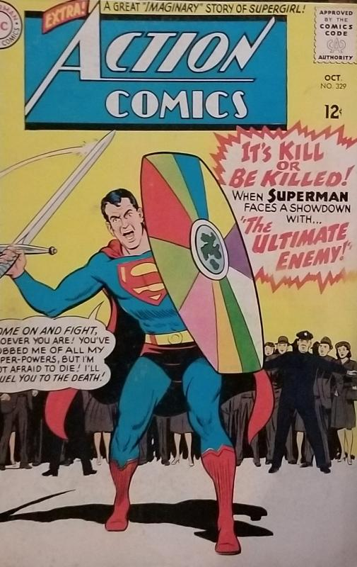 Action Comics superstar 329