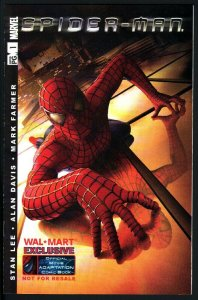 SPIDER-MAN OFFICIAL MOVIE ADAPTATION #1-WAL-MART EXCLUSIVE-2002-HTF