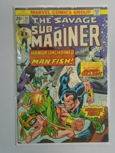 Sub-Mariner #70 5.5 FN- (1974 1st Series)