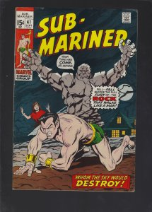 Sub-Mariner #41 (1971)