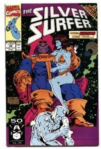 Silver Surfer #56 1991 Infinity Gauntlet Thanos Marvel. NM-