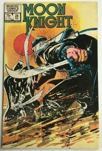 MOON KNIGHT#28 VF/NM 1983 MARVEL BRONZE AGE COMICS