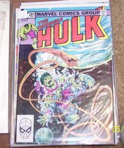 Incredible Hulk comic # 281 1983, Marvel leader rick jones  in space+
