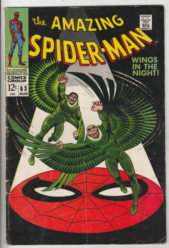 Amazing Spider-Man #63 (Aug-68) VG+ Affordable-Grade Spider-Man