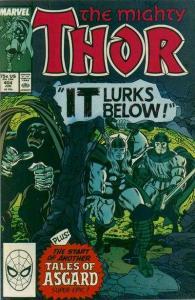 Thor (1966 series) #404, VF (Stock photo)