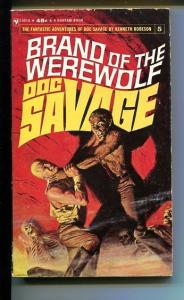 DOC SAVAGE-BRAND OF THE WERWOLF-#4-ROBESON-DOUG ROSA COVER-1ST ED-VG VG