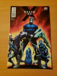 Death of X #2 Variant Cover ~ NEAR MINT NM ~ (2016, Marvel Comics)