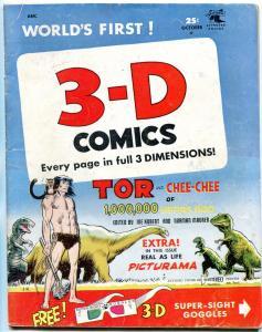 TOR 3-D COMICS #2 JOE KUBERT PREHISTORIC ADVENTURES 1953 VG