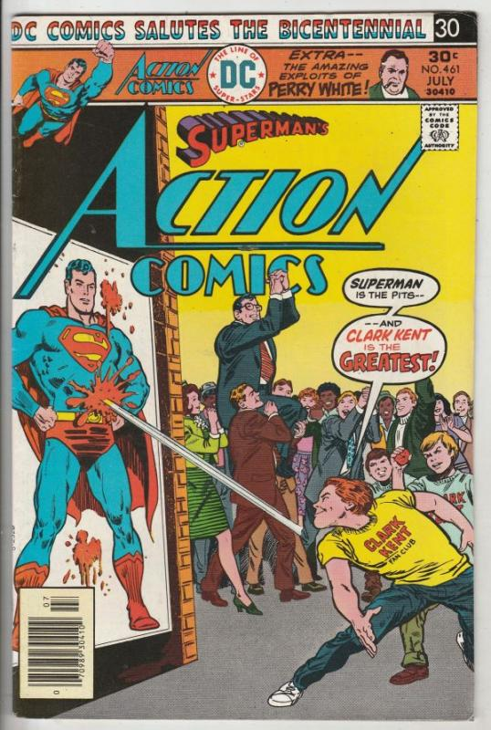 Action Comics #461 (Jul-76) VF/NM High-Grade Superman
