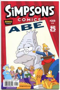 SIMPSONS COMICS #209, VF, Bart, Homer, Marge, Maggie, more in store