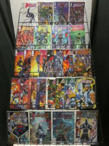 BACKLASH (1994 IM) 1,1A,2-32  the COMPLETE series+ COMICS BOOK