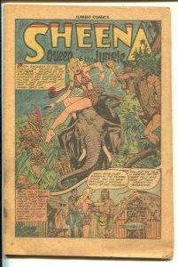 Jumbo Comics #121 1948-Fictionn House-Sheena-Good Girl Art-Matt Baker-Jack Ka...