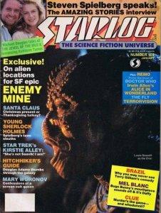 ORIGINAL Vintage January 1986 Starlog Magazine #102 Enemy Mine Mel Blanc