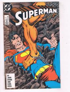 Superman (1987 2nd Series) #7 DC Comic Book 1st appearance of Rampage HH3