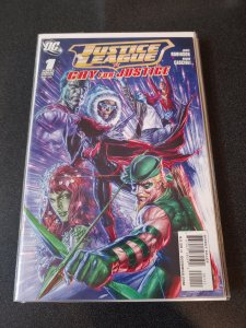 JUSTICE LEAGUE CRY FOR JUSTICE #1 NM