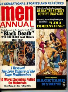 MEN Annual-1969-Pussycat-Headhunters-Nazi Gold-Adventure