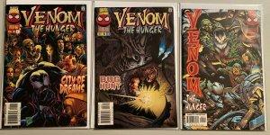 Venom the hunger #1,3,7 6.0 FN (1996)
