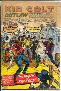 Kid Colt Outlaw-#91-1960-Marvel-Jack Kirby cover-Kid Colt Death-P