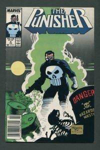 Punisher #6  / 8.0 VFN  Newsstand February 1988