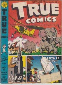 True Comics 54 VG/VG+ (November 1946)