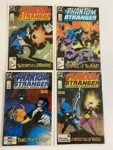 The Phantom Stranger Set #1-4 H20 Damage 4.0 VG (1987)