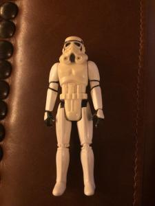 Stormtrooper W/GUN Kenner Action Figure Star Wars 1977 Empire Jedi Solo TWT1