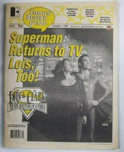 Comics Buyers Guide #1037 Oct 1993 Superman Returns to TV Lois & Clark