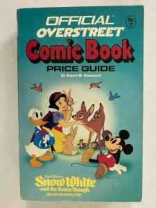 Overstreet Price Guide #17 Softcover Disney anniversary cover 6.0 FN (1987)