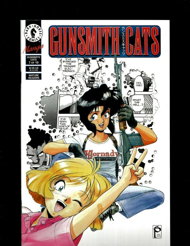 5 Gunsmith Cats Dark Horse Comic Books #6-10 JF21