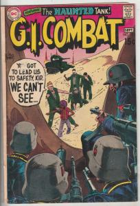 G.I. Combat #137 (Sep-69) VG+ Affordable-Grade The Haunted Tank