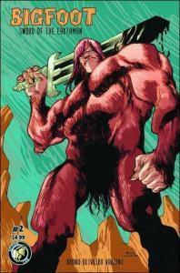Bigfoot: Sword Of The Earthman (2nd Series) #2A VF/NM; Action Lab   save on ship