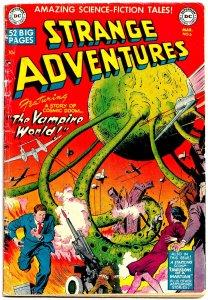 STRANGE ADVENTURES #6 (Mar1951) 2.0 GD  • Curt Swan! Bob Oksner! Gardner Fox!