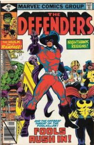 Marvel Comics The Defenders #74 Fine FoolKiller