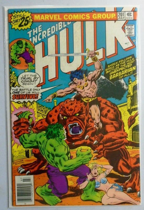 Incredible Hulk (1st Series) #201, 4.0 - 1976