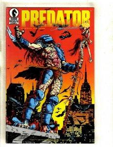 5 Dark Horse Comics Futures 1991 Predator 1 4 Aliens 2 3 ALL 5 SIGNED AUTO RM4