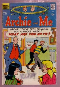 ARCHIE AND ME #28 HORROR-SCOPE ISSUE 1969 MR WEATHERBEE VG
