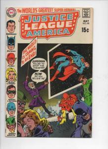 JUSTICE LEAGUE OF AMERICA #80, FN/VF, Superman, Batman, Flash, Atom, DC, 1970