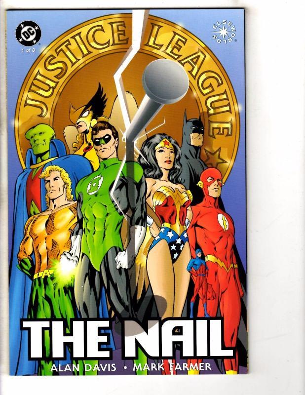 4 DC Comics JLA The Nail # 1 Primeval # 1 JLA Superpower # 1 JLA 1 ...