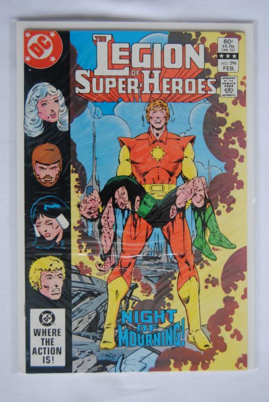 Legion of Super-Heroes 296