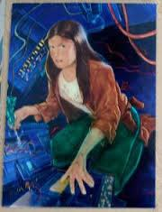 1996 Topps Finest Star Wars JAINA SOLO #42 Chromium