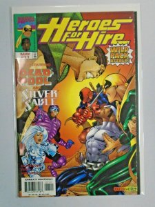 Heroes for Hire (1st Series) #11 W/ Deadpool 8.0/VF (1998)