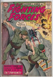 Our Fighting Forces #85 (Jul-64) VG+ Affordable-Grade Gunner and Sarge, Pooch