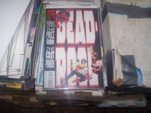 Deadpool #2 (Sep 1993, Marvel) juggernaut  black tom cassidy