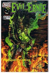 EVIL ERNIE DESTROYER #1, NM+, Zombie, Brian Pulido, 1997, more indies in store